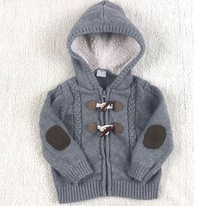 Baby Faux Fur Hooded Sweater